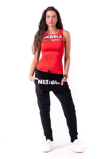 Яркая спортивная майка NEBBIA 678 RED