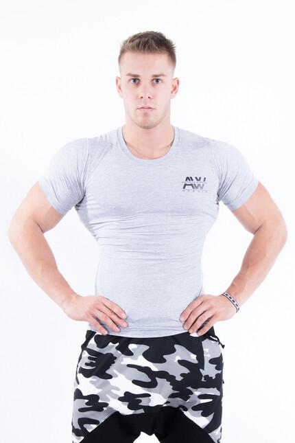 Облегающая мужская футболка NEBBIA 120