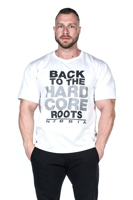 Мужская футболка для тренировок NEBBIA T-SHIRT 391