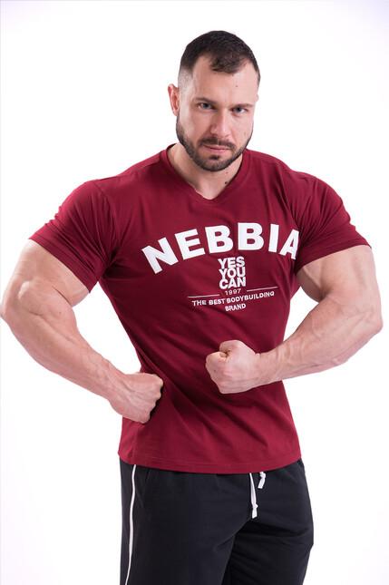Эластичная тренировочная футболка T-SHIRT 396 RED