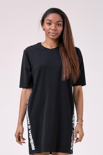 Спортивное платье PLAYFUL RESTDAY OVERSIZED DRESS 522 BLACK