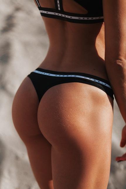 Стильные женские плавки MESH ME NEBBIA THONG 542 BLACK