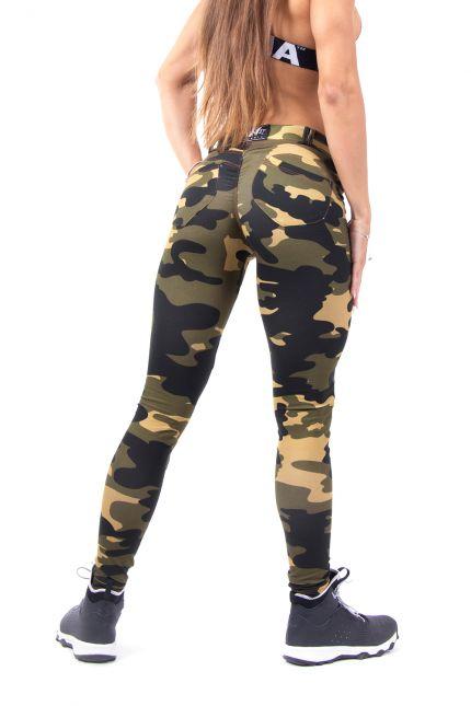 Эластичные спортивные штаны BUBBLE BUTT 252