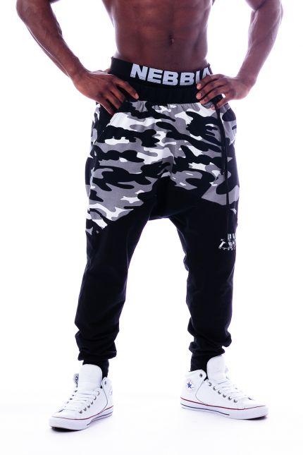 Воздухопроводящие штаны NEBBIA CAMO AW 117 BLACK
