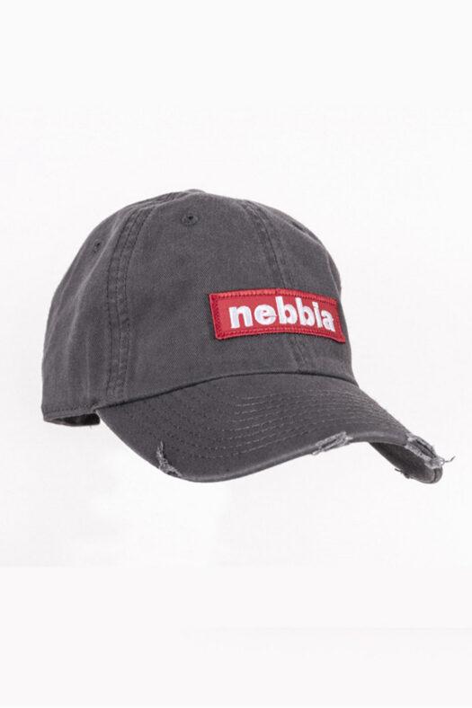 Спортивная кепка NEBBIA 162 СЕРАЯ